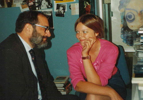Umberto Eco and Elena Kostioukovitch